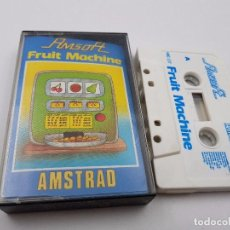 Videojuegos y Consolas: JUEGO CASSETTE FRUIT MACHINE ESPAÑA AMSTRAD CPC 464.COMBINO ENVIO. Lote 101931511