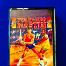 Videojuegos y Consolas: FERNANDO MARTÍN BASKET MÁSTER AMSTRAD DINAMIC. Lote 59980509