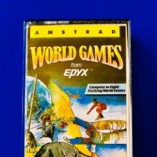 Videojuegos y Consolas: WORLD GAMES AMSTRAD EPYX U.S. GOLD ERBE SOFTWARE. Lote 59984557