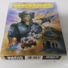 Videojuegos y Consolas: ANTIGUO JUEGO DE CONSOLA AMSTRAD NARCO POLICE . Lote 103472091