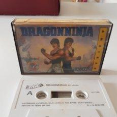Videojuegos y Consolas: JUEGO DRAGONNINJA PARA AMSTRAD. Lote 104357131