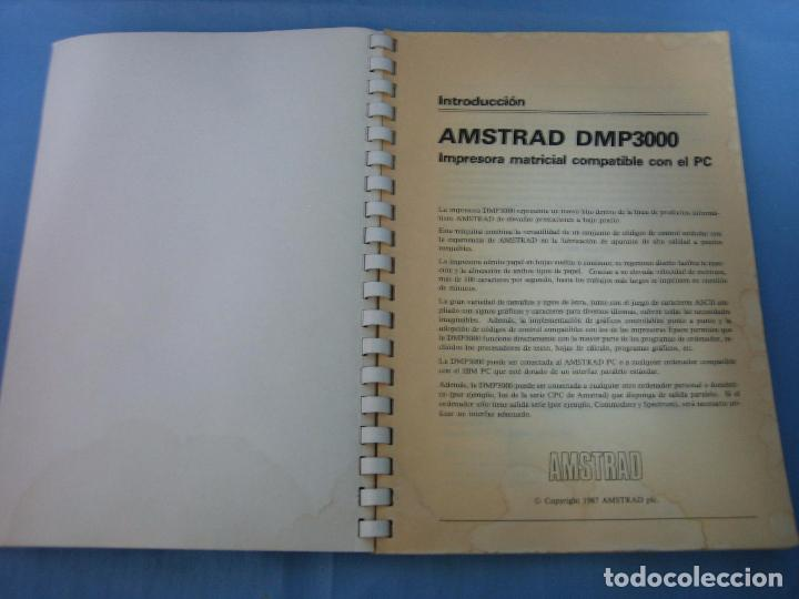 Videojuegos y Consolas: Manual de usuario Amstrad impresora DMP 3000 - Foto 4 - 104762395