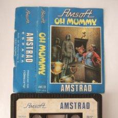 Videojuegos y Consolas: AMSTRAD - AMSOFT - OH MUMMY - JUEGO . Lote 105199271