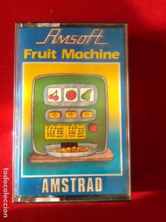JUEGO ORIGINAL AMSTRAD FRUIT MACHINE (Juguetes - Videojuegos y Consolas - Amstrad)