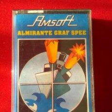 Videojuegos y Consolas: JUEGO ORIGINAL AMSTRAD ALMIRANTE GRAF SPEE. Lote 108734519