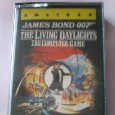 Videojuegos y Consolas: JUEGO AMSTRAD CASSETTE ALTA TENSION JAMES BOND 007. Lote 110244403