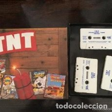 Videojuegos y Consolas: AMSTRAD CPC CASSETTE TNT 5 GAMES IN ONE BIG BOX NO MANUAL. Lote 110250343