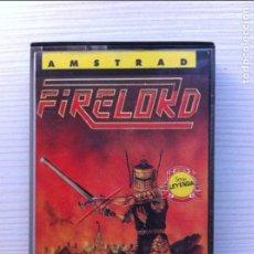 Videojogos e Consolas: FIRELORD AMSTRAD CPC 464 CINTA 1986 ERBE. Lote 110327851