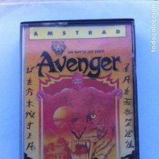 Videojuegos y Consolas: AVENGER THE WAY OF THE TIGER AMSTRAD CPC 464 CINTA 1986. Lote 110330267