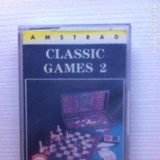 Videojuegos y Consolas: CLASSIC GAMES 2 AMSTRAD CPC 464 CINTA. Lote 110341047