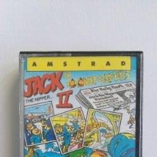 Videojuegos y Consolas: JACK THE NIPPER II IN COCONUT CAPERS GREMLIN 1987 AMSTRAD CPC 464. Lote 110352795