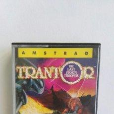 Videojuegos y Consolas: TRANTOR THE LAST STORM TROOPER AMSTRAD CPC 464 CINTA AÑO 1987. Lote 110354247