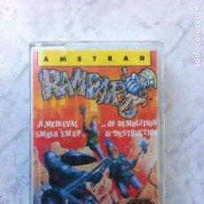 Videojuegos y Consolas: RAMPARTS A MEDIEVAL OF DEMOLUTION & DESTRUCTION AMSTRAD CPC 464 CINTA AÑO 1988. Lote 110355055