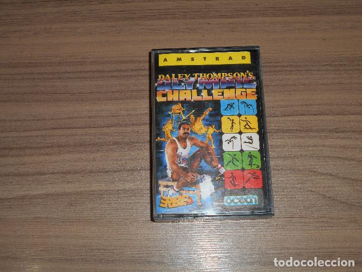 DALEY THOMPSON'S OLYMPIC CHALLENGE COMPLETO AMSTRAD (Juguetes - Videojuegos y Consolas - Amstrad)