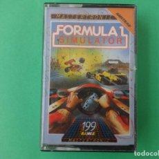 Videojuegos y Consolas: FORMULA 1 SIMULATOR DRO SOFT AMSTRAD CPC 464 472 664 6128. Lote 110740275