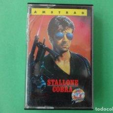 Videojuegos y Consolas: COBRA SYLVESTER STALLONE AMSTRAD CPC 464 472 664 6128. Lote 110740659
