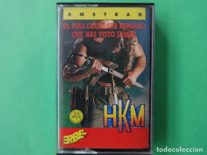 HKM THE HUMAN KILLING MACHINE AMSTRAD CPC 464 472 664 6128 (Juguetes - Videojuegos y Consolas - Amstrad)