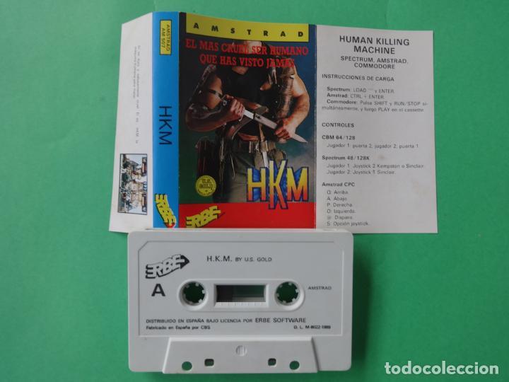 Videojuegos y Consolas: HKM THE HUMAN KILLING MACHINE AMSTRAD CPC 464 472 664 6128 - Foto 2 - 110744867
