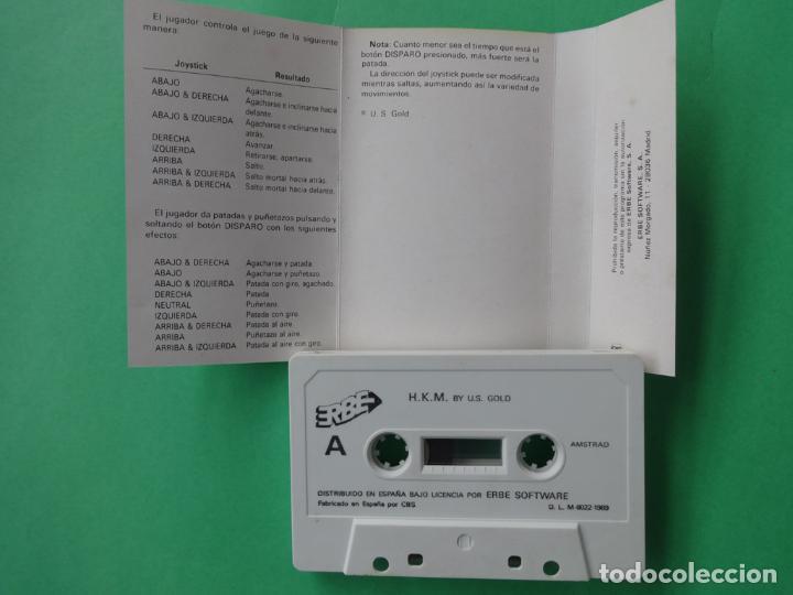 Videojuegos y Consolas: HKM THE HUMAN KILLING MACHINE AMSTRAD CPC 464 472 664 6128 - Foto 3 - 110744867