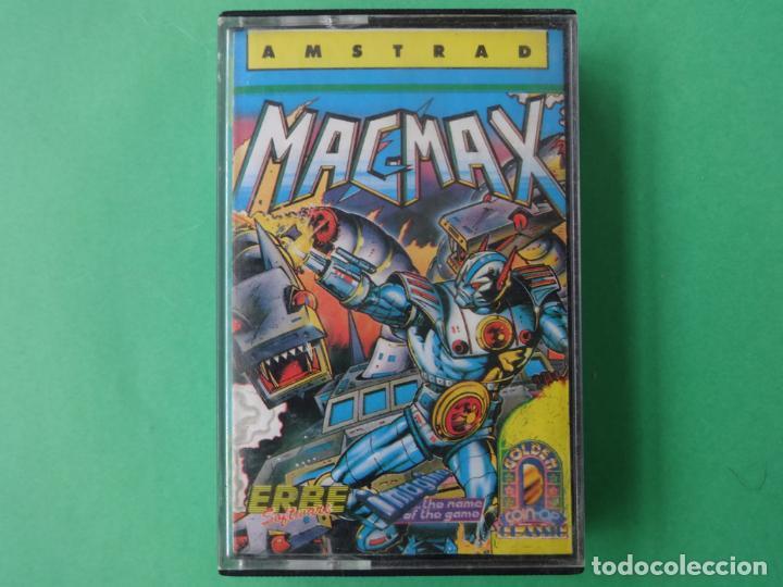 MAG MAX MAGMAX AMSTRAD CPC 464 472 664 6128 (Juguetes - Videojuegos y Consolas - Amstrad)