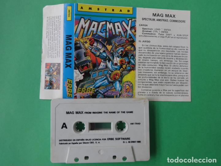 Videojuegos y Consolas: MAG MAX MAGMAX AMSTRAD CPC 464 472 664 6128 - Foto 2 - 110745487