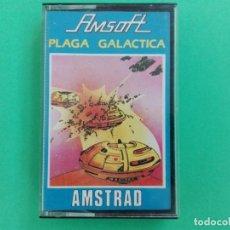 Videojuegos y Consolas: LA PLAGA GALACTICA AMSOFT AMSTRAD CPC 464 472 664 6128. Lote 111141451