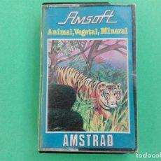 Videojuegos y Consolas: ANIMAL VEGETAL MINERAL AMSOFT AMSTRAD CPC 464 472 664 6128. Lote 111141819