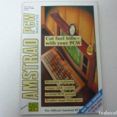 Videojuegos y Consolas: AMSTRAD PCW MAGAZINE - ENERO 1989 - REVISTA PARA AMSTRAD PCW / EN INGLÉS / RETRO . Lote 111400363