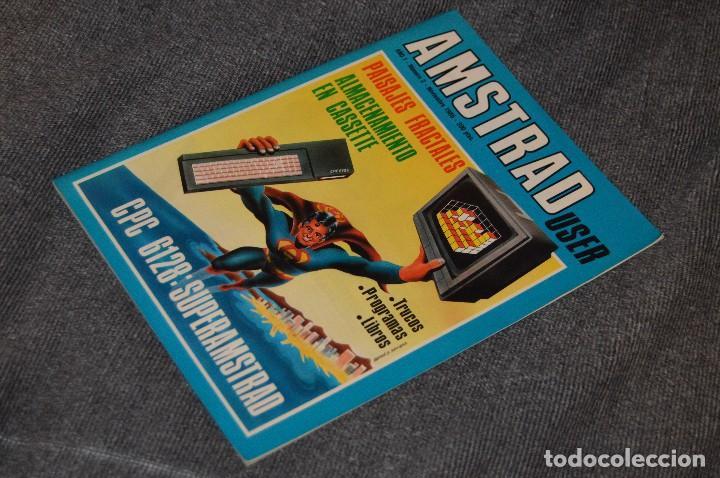 VINTAGE - Nº 2 DE LA REVISTA AMSTRAD USER DE NOVIEMBRE 1985 - EN ESTADO PERFECTO - HAZME UNA OFERTA (Juguetes - Videojuegos y Consolas - Amstrad)
