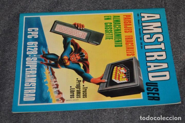 Videojuegos y Consolas: VINTAGE - Nº 2 DE LA REVISTA AMSTRAD USER DE NOVIEMBRE 1985 - EN ESTADO PERFECTO - HAZME UNA OFERTA - Foto 2 - 113206735