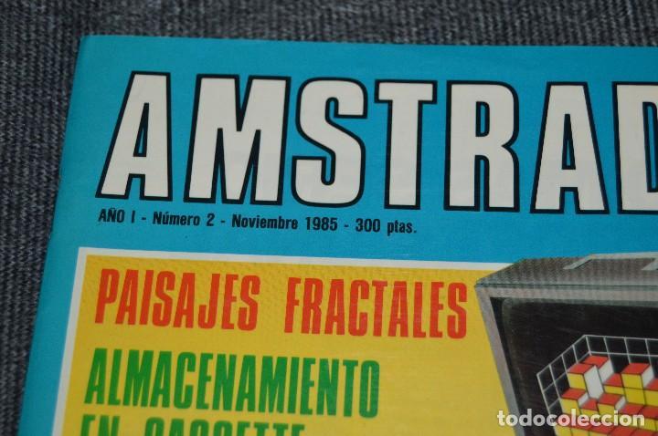 Videojuegos y Consolas: VINTAGE - Nº 2 DE LA REVISTA AMSTRAD USER DE NOVIEMBRE 1985 - EN ESTADO PERFECTO - HAZME UNA OFERTA - Foto 4 - 113206735