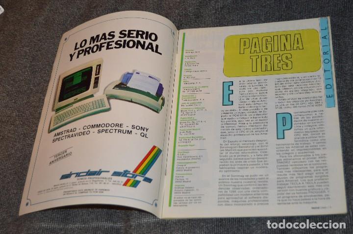 Videojuegos y Consolas: VINTAGE - Nº 2 DE LA REVISTA AMSTRAD USER DE NOVIEMBRE 1985 - EN ESTADO PERFECTO - HAZME UNA OFERTA - Foto 5 - 113206735