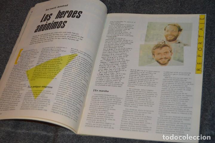 Videojuegos y Consolas: VINTAGE - Nº 2 DE LA REVISTA AMSTRAD USER DE NOVIEMBRE 1985 - EN ESTADO PERFECTO - HAZME UNA OFERTA - Foto 7 - 113206735