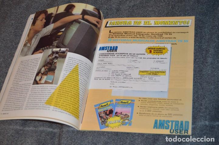 Videojuegos y Consolas: VINTAGE - Nº 2 DE LA REVISTA AMSTRAD USER DE NOVIEMBRE 1985 - EN ESTADO PERFECTO - HAZME UNA OFERTA - Foto 8 - 113206735