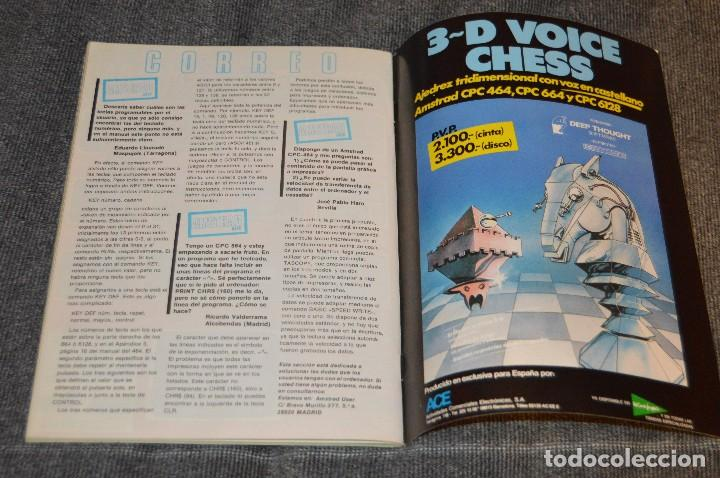 Videojuegos y Consolas: VINTAGE - Nº 2 DE LA REVISTA AMSTRAD USER DE NOVIEMBRE 1985 - EN ESTADO PERFECTO - HAZME UNA OFERTA - Foto 11 - 113206735