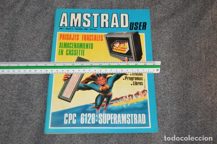 Videojuegos y Consolas: VINTAGE - Nº 2 DE LA REVISTA AMSTRAD USER DE NOVIEMBRE 1985 - EN ESTADO PERFECTO - HAZME UNA OFERTA - Foto 12 - 113206735