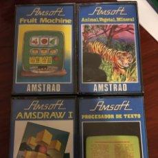 Videojuegos y Consolas: LOTE AMSOFT PARA AMSTRAD. Lote 114946027