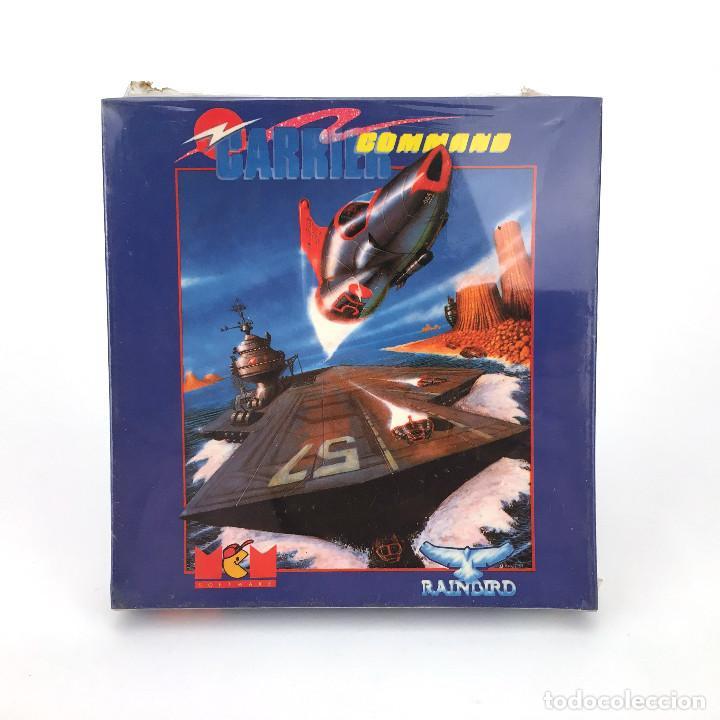 CARRIER COMMAND PRECINTADO MCM ESPAÑA RAINBIRD 1990 JUEGO NUEVO DISK DISKETTE AMSTRAD CPC 6128 DISCO (Juguetes - Videojuegos y Consolas - Amstrad)