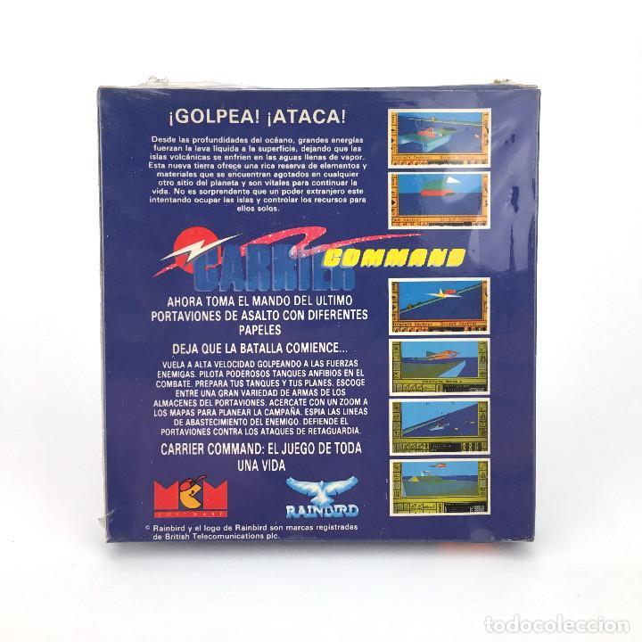 Videojuegos y Consolas: CARRIER COMMAND PRECINTADO MCM ESPAÑA RAINBIRD 1990 JUEGO NUEVO DISK DISKETTE AMSTRAD CPC 6128 DISCO - Foto 2 - 115344403