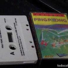 Videojuegos y Consolas: JUEGO PARA AMSTRAD - PING PONG ERBE. Lote 116254515