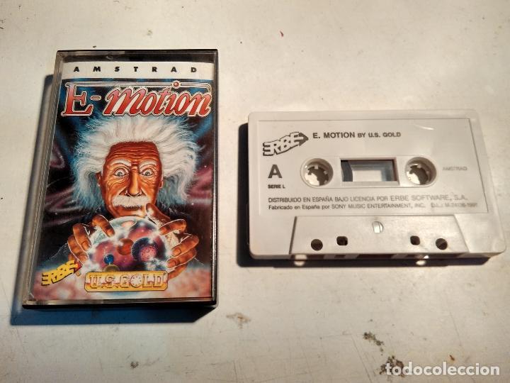 AMSTRAD CINTA - JUEGO E-MOTION (Juguetes - Videojuegos y Consolas - Amstrad)