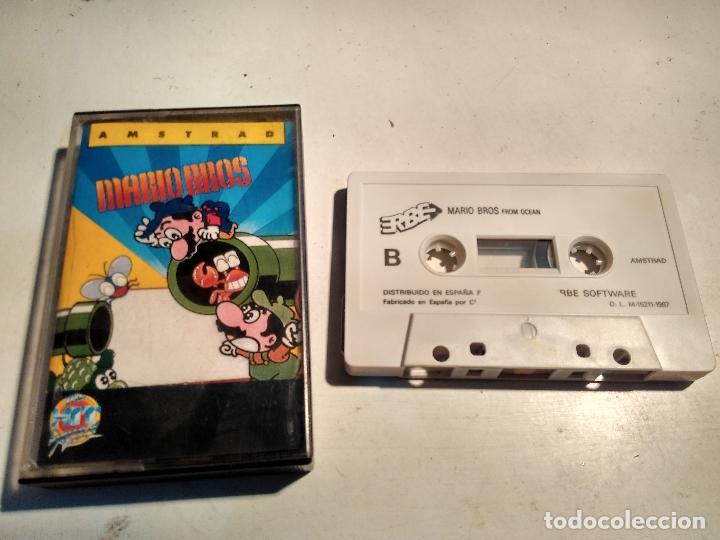 AMSTRAD CINTA - JUEGO MARIO BROS (Juguetes - Videojuegos y Consolas - Amstrad)