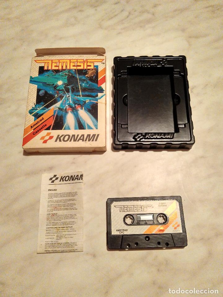 AMSTRAD CINTA - JUEGO NEMESIS (Juguetes - Videojuegos y Consolas - Amstrad)