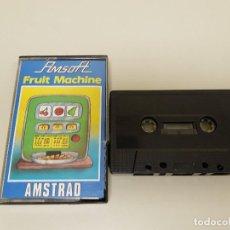 Videojuegos y Consolas: 918- JUEGO AMSTRAD CASSETTE AMSOFT FRUIT MACHINE CPC 464 /AÑOS 80. Lote 117799391