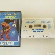 Videojuegos y Consolas: 918- JUEGO AMSTRAD CASSETTE AMSOFT EL LABERINTO DEL SULTÁN AÑO 1985 Nº 1. Lote 117800495
