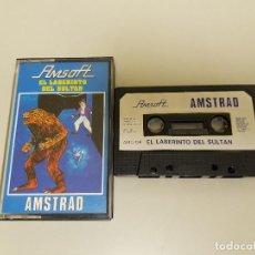 Videojuegos y Consolas: 918- JUEGO AMSTRAD CASSETTE AMSOFT EL LABERINTO DEL SULTÁN AÑO 1985 Nº 2. Lote 117800587