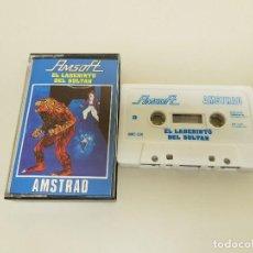 Videojuegos y Consolas: 918- JUEGO AMSTRAD CASSETTE AMSOFT EL LABERINTO DEL SULTÁN AÑO 1985 Nº 3. Lote 117800727