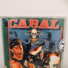 Videojuegos y Consolas: CABAL AMSTRAD DISCO. Lote 118356183