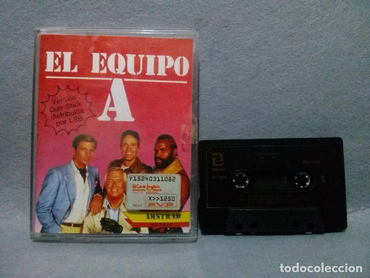 JUEGO PARA AMSTRAD - EL EQUIPO A 1988 - COMPLETO...VERSION CASSETTE. (Juguetes - Videojuegos y Consolas - Amstrad)