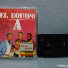 Videojuegos y Consolas: JUEGO PARA AMSTRAD - EL EQUIPO A 1988 - COMPLETO...VERSION CASSETTE.. Lote 118744195